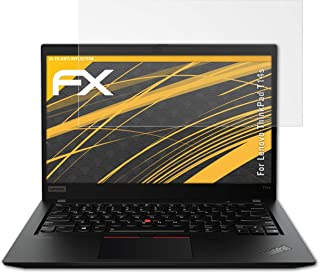 atFoliX Beschermfolie compatibel met Lenovo ThinkPad T14s Schermbeschermer, anti-reflecterend en schokabsorberend FX Folie...