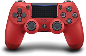 PlayStation 4 - Dualshock 4 Controller Wireless V2, Rosso (Magma Red)