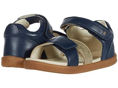 Bobux Kids I-Walk Sail (Toddler) (Navy/Gold 1) Girls Shoes