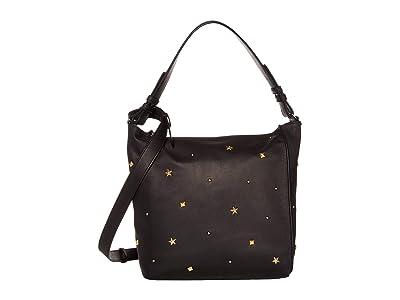 AllSaints Mazzy Crossbody (Black) Handbags