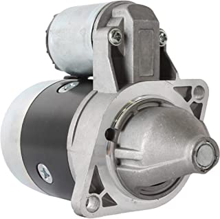 DB Electrical SMT0125 Starter for Kubota Tractor G2000 G3200 G4200H G5200H Lawn Tractor T1600H Excavators KH007 KH21 /Cub Cadet Tractor 1512 1572 1772 1782 2182 782 882 / Thomas Skid Steer T82