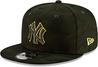 New Era New York Yankees 2019 Armed Forces Day 9FIFTY Adjustable Snapback Hat Green/Camo