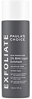 Paula's Choice Skin Perfecting 2% BHA Liquid Exfoliant - Salicylic Acid Peel for Face - Blackhead, Whitehead & Blemish Exf...