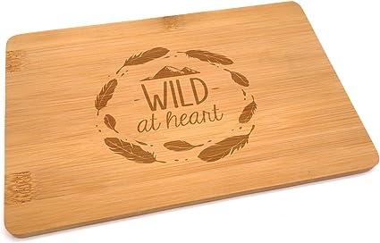 Compra Samunshi® Tabla de madera con grabado