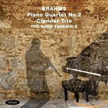 Brahms: Piano Quartet No.2 Clarinet Trio