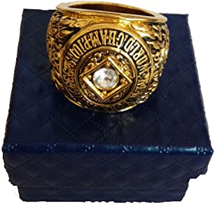 YIYICOOL NY 1956 Yankees Championship Ring Size 11 with Carton
