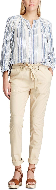 Chaps Women's Polished Stretch Cotton Stragiht Fit Capri Pant