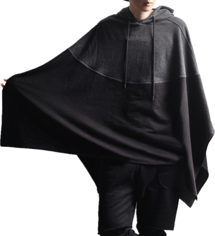 Allonly Men's Now on sale Fashion Hoodie Many popular brands Darkness Windbreaker Cloak Co Black