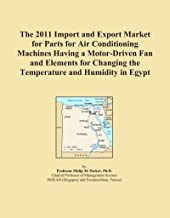 The 2011 Import and Export Market for Parts for Air Conditioning Machines Having a Motor-Driven Fan and Elements for Changing the Temperature and Humidity in Egypt