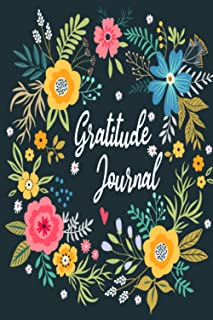 Gratitude Journal: 90 Day Gratitude Journal with Prompts   Daily Reflection Journal   Positivity Diary for a Happier You i...