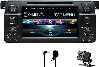 SWTNVIN Android 10.0 Auto Audio Stereo Kopfeinheit passt für BMW E46 DVD Player Radio 7 Zoll HD Touchscreen GPS Navigation mit Bluetooth WiFi Lenkradsteuerung 2GB+32GB