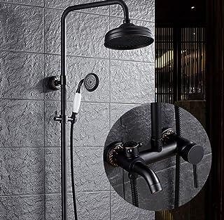 df39ede90e8a Set de ducha - Cabezal de ducha de alta presión de acero inoxidable,  multifuncional anti