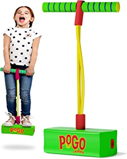 Swipply Jumping Toys Foam Pogo Jumper for Kids Fun and Safe Childs Pogo Stick for Toddlers Durable Indoor Outdoor Foam Bun...