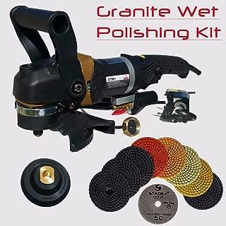 Stadea SWP103K Variable Speed Wet Polisher Grinder Electric Wet Sander - Granite Countertop Polishing Kit