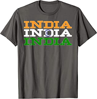 INDIA | Indian Flag Sports Lovers T-Shirt