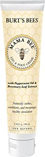 Burt's Bees Mama Bee Leg & Foot Cream with Peppermint Oil - 3.38 Ounce Tube