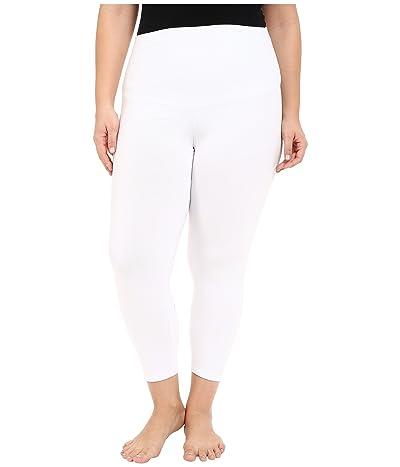 Yummie Plus Size Gloria Skimmer Leggings (White) Women