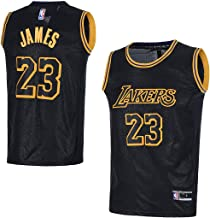 OuterStuff Youth Los Angeles Lakers #23 LeBron James Kids Basketball Jersey