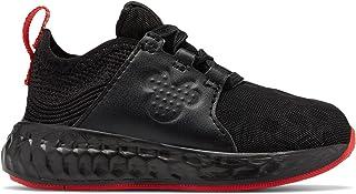 (ニューバランス) New Balance 靴?シューズ キッズランニング Cruz Sport Disney Black with Pink ブラック ピンク US 9.5 (16.5cm)