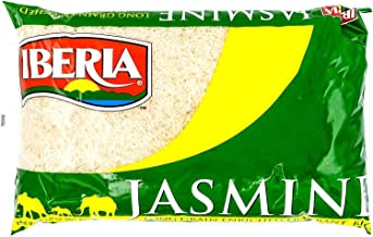 Iberia Jasmine Rice, 5 lbs Long Grain Naturally Fragrant Enriched Jasmine Rice, White