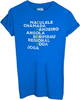 Sport by Dress Your Style MUSH T-Shirt Born TO Capoeira
