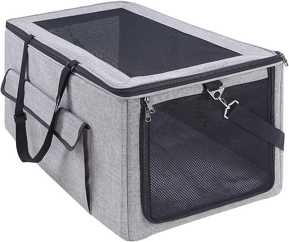 unipaws Dog Travel Crate Collapsible Soft Seat S Large special price for low-pricing Kennel Car
