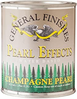 General Finishes PECP Pearl Effects House Paint, 1 Pint, Champagne Pearl