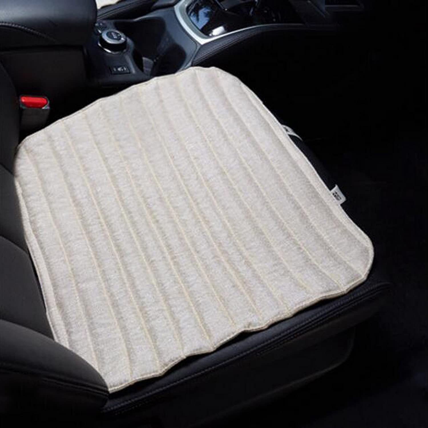 Car Seat Four Seasons Universal Seat Single Backless Winter Cotton Back Seat Single Sheet Linen