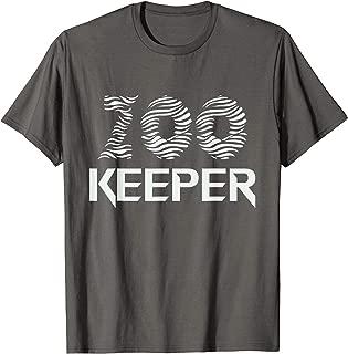 Zookeeper Zoo Keeper African Savanna Safari Guide T-Shirt