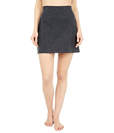 Beyond Yoga Spacedye Move It High Waisted Skirt (Black/Charcoal) Women