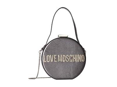 LOVE Moschino Circle Bag (Fucile) Handbags