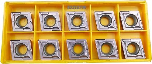 discount ASZLBYM CCMT432 / CCMT120408 CNC Lathe Indexable Carbide sale Turning Insert 2021 (CCMT432 brown) online