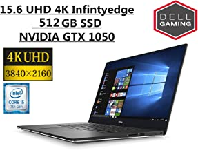 """Dell XPS 15.6"""" 4K InfinityEdge touch High performance Laptop 