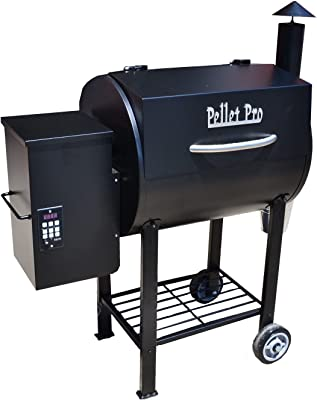 Pellet Pro 440 BBQ Wood Pellet Grill with PID Controller and 2RPM Auger