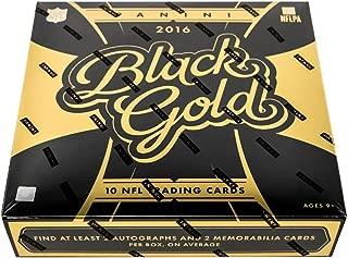 2016 Panini Black Gold NFL Football box (2 pk)