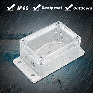 IP66 Waterproof Junction Box Plastic Cable Wire Connector Gland Case Water-resistant Shell Support Basic/RF/Dual/Pow for X...