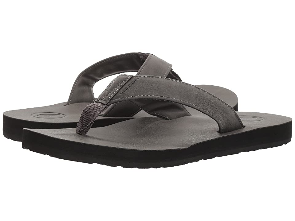 Volcom Fathom Sandal (Gunmetal Grey) Men
