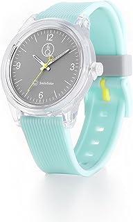 Q&Q Girls RP10J012Y Year-Round Analog Solar Powered Blue Watch