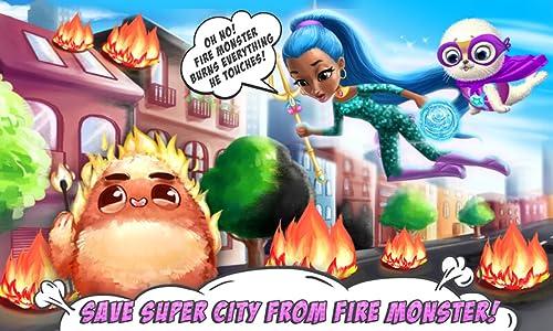 『Power Girls Super City – Superhero Salon, Miraculous Pets & Monster Rescue』の6枚目の画像