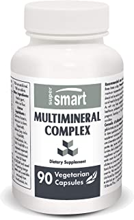 Supersmart - MultiMineral Complex - Provides Calcium, Chromium, Iodine, Boron, Magnesium, Selenium, Zinc & Potassium | No-...