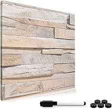 Magnettafel HWC-C84 110x80cm inkl Whiteboard Memoboard Pinnwand Zubehör
