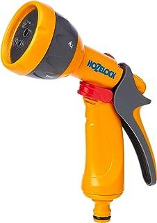 Hozelock 2676P0000 Multispray Watering Gun, Grey/Yellow (HZ2676P0000)