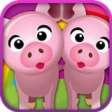 Tierpaare - Ein lustiges Memo Spiel für Kinder und Kleinkinder