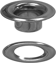 Stimpson Sheet Metal Grommet and Washer Marine Grade Stainless Steel Durable, Reliable, Heavy-Duty #2 Set (100 Pieces of Each)