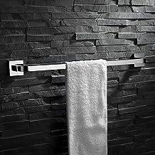 MBYW moderne minimalistische hoge dragende handdoek rek badkamer handdoekenrek Roestvrijstaal chroom enkele staaf handdoek...