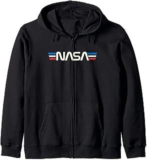 Badge spatial rétro vintage Astronomie NASA Sweat à Capuche