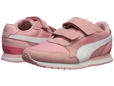 Puma Kids ST Runner v2 NL V (Little Kid) (Bridal Rose/PUMA White/Calypso) Girls Shoes