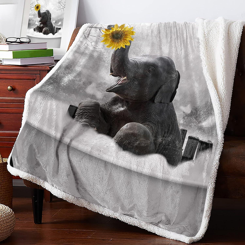 Warm Soft Memphis Mall Fleece Throw Blanket Fall Foggy - Max 82% OFF Plush Forest Cozy L