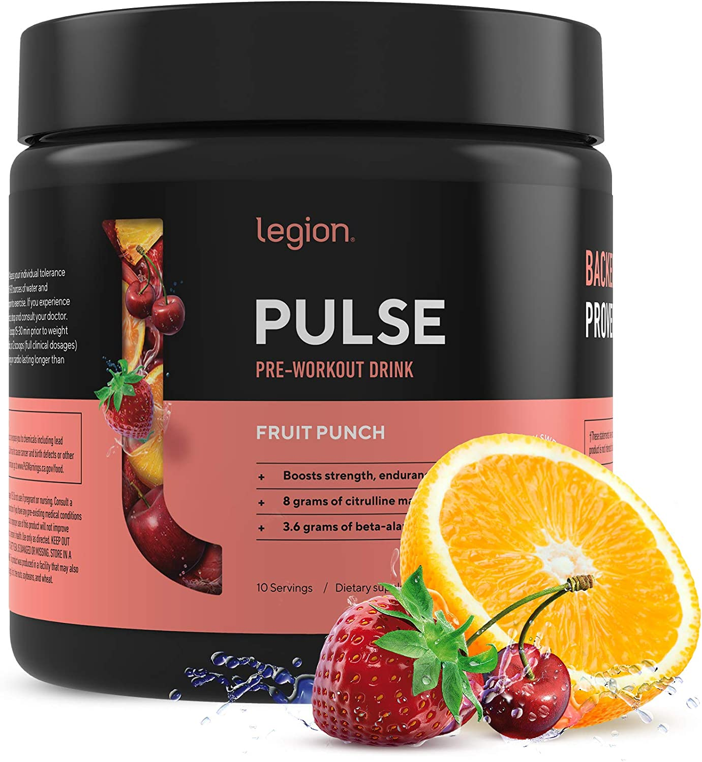 Legion Pulse Best Recommendation Natural Pre for Gifts Workout Supplement Women and
