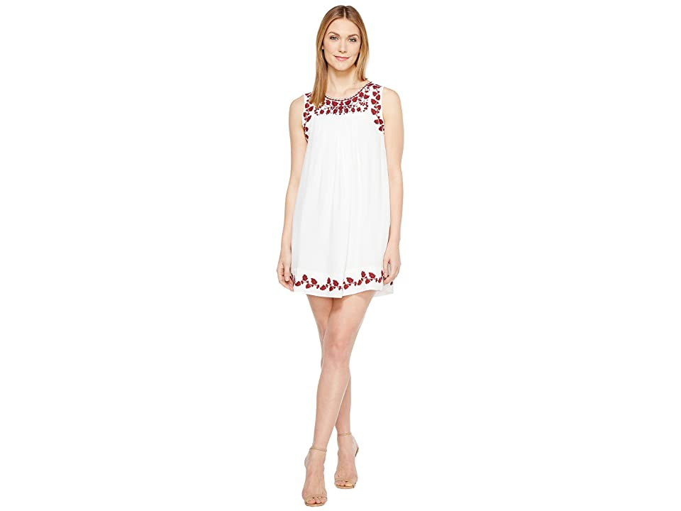Lucky Brand Hannah Shift Dress (Lucky White) Women